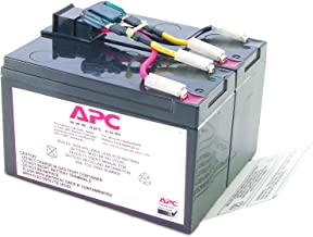 APC UPS Battery Replacement for APC UPS Models SMT750, SMT750US, SUA750 and Select Others (RBC48)