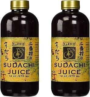 Yakami Orchard 100% Pure Japanese Sudachi Juice, 12 Ounce (Pack of 2)