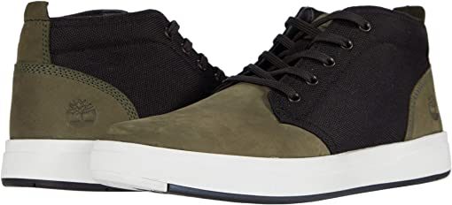 Dark Green Nubuck/Black