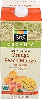 365 Everyday Value, Organic Orange Peach Mango Juice, 59 fl oz