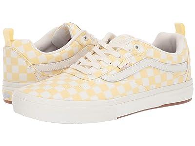 Vans Kyle Walker Pro ((Checkerboard) Pale Banana/Marshmallow) Skate Shoes