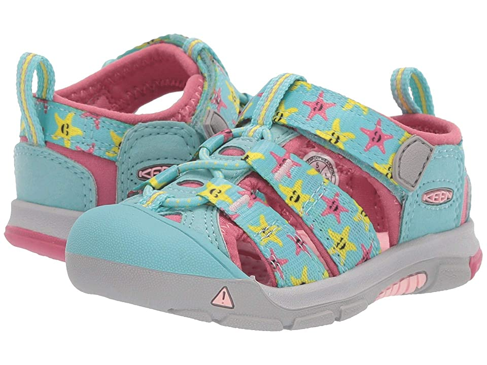 Keen Kids Newport H2 (Toddler) (Tibetan Stone Starfish) Kids Shoes