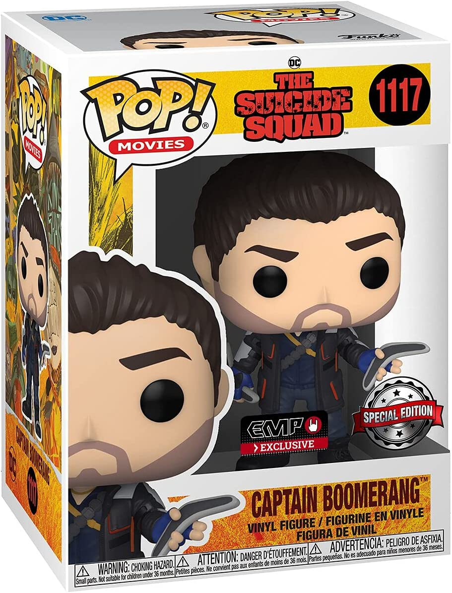 Funko POP! Movies #1117 The Suicide Squad Captain Boomerang - Walmart...