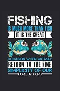 Notebook: Anglers, Fishing, Fishing, Fisherman, Fishing Rod,: 100 pages - notebook, sketchbook, diary, to do list, drawing...