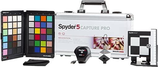 Datacolor S5CAP100 Spyder5CAPTURE PRO Color Calibration, Photography Workflow, Silver & Black