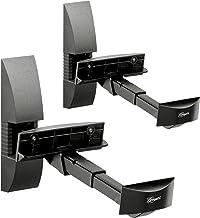 Vogel's VLB 200, Soporte de pared para altavoces (2x), Negro, Máx 20 Kg