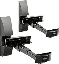 Vogel's Universal Speaker Wall Mount - VLB 200 B for Satellite Speakers max 44 lbs, set of 2 mounts, Black