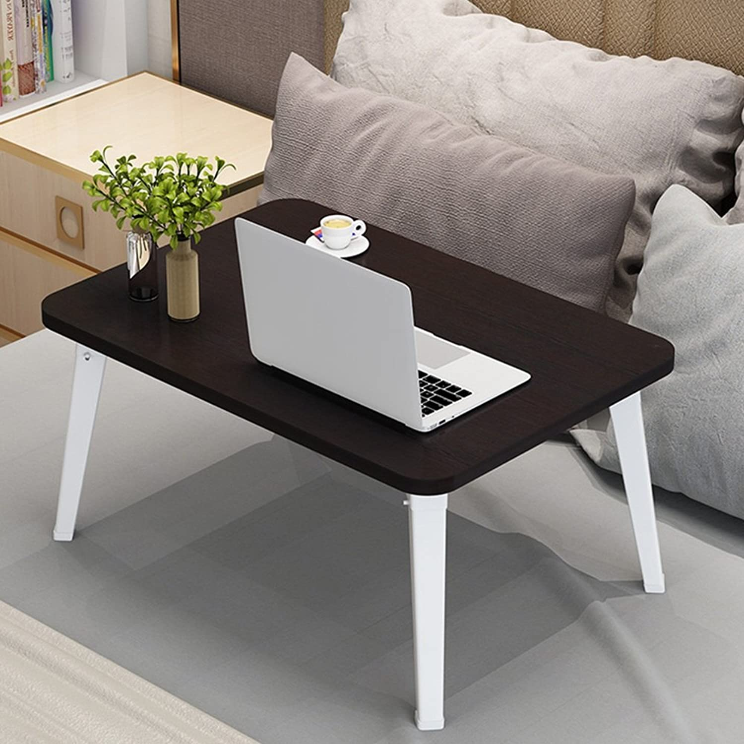 ZZ Folding Table Folding Table Small Computer Table Portable Table Book Desk Home Multi-Function Table Multi-color Optional 69  45 cm (color   E)