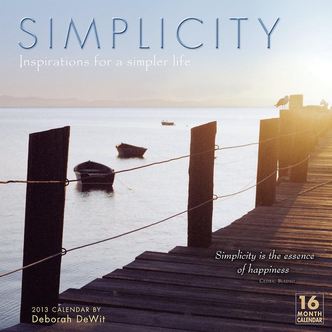 ブルジョン所属描写Simplicity 2013 Wall (calendar)