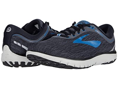 Brooks PureFlow 7 (Black/Ebony/Deep Water) Men