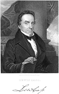 Lewis Cass (1782-1866) Namerican Lawyer And Political Leader Stipple Engraving American 1837 Poster Print by (24 x 36)