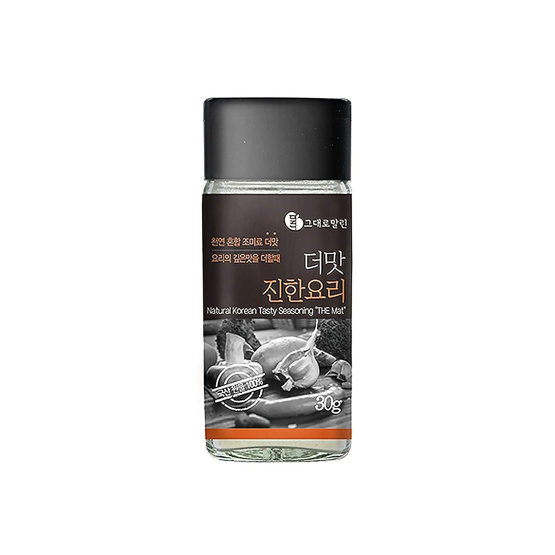 Malrin 더맛 진한요리 Gourmet Korean Natural Mixed Seasoning Powder Deep (30g/1.05oz) Grown in South Korea, Natural Spices & Herbs