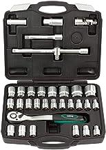 1//2 3//8 Karcher Coffret de 157 douilles 1//4 Coffret /à cliquet haut de gamme avec outils en chrome vanadium