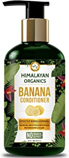 Himalayan Organics Banana Conditioner for Dry and Frizzy Hair | Hydrating & Nourishing Damaged Hair | NO Sulphate & Parabens | 300ml