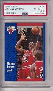 1991 Fleer #29 Michael Jordan (HOF) PSA 8.5 Near Mint+