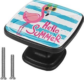 Usine de spectacle Flamingo 4 PCS Tiroir de Porte Poignée, Bouton de Meubles, Boutons de Tiroir, Boutons de Porte, Poignée...