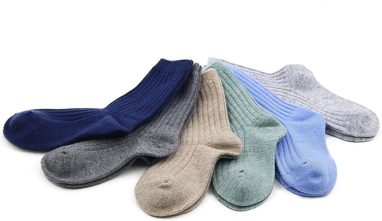 Boys Wool Socks Kids Winter Warm Socks Thermal Crew Socks for Boys 6 Pack