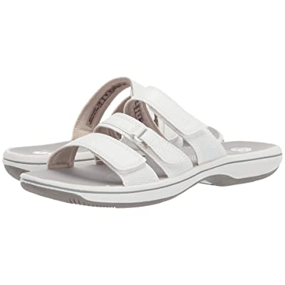 Clarks Brinkley Coast Boxed (White Synthetic) Women