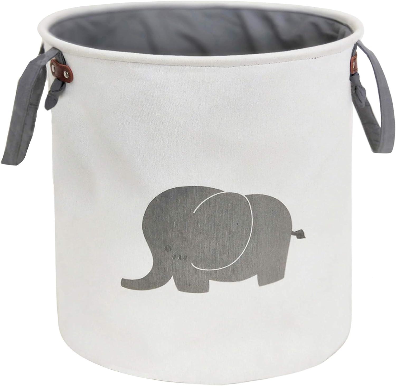 Max 67% OFF Price reduction HIYAGON Storage Baskets Cotton foldable organizer Home round Bin