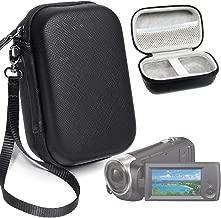 Camera Case for Sony HD Video Recording HDRCX440, HDRCX405 Handycam; Canon VIXIA HF R800, Panasonic HC-V180K and Kimire HD Recorder, and for Sony HDRAZ1VR/W, SiOnyx Aurora Day/Night Action Camera