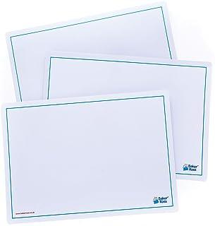Baker Ross Pizarras blancas fáciles de borrar (Paquete de 10) Manualidades para niños