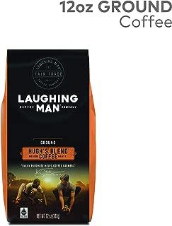 Laughing Man Hugh's Blend Ground Coffee, 12 oz bag