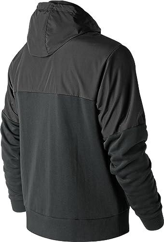 nouveau   MJ83523 Atheltics Sweat zippé à Capuche noir