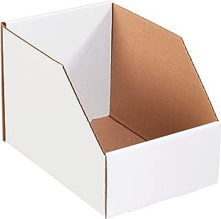 Aviditi BINJ8128 Jumbo Open Top Bin Box, 12
