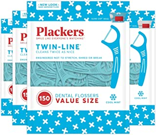 plackers tri line floss