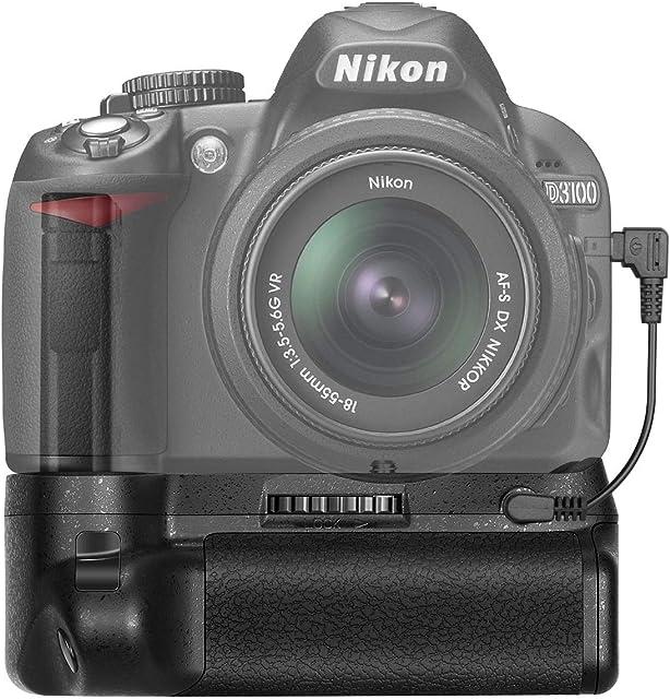 Neewer - Empuñadura vertical profesional apretón soporte de batería Battery Grip para  NIKON D3100/D3200/D3300 Digital SLR cámara EN-EL14 batería