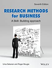 Research Methods For Business, 7Th Edition