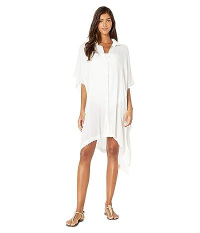 L*Space Anita Cover-Up Dress (White) Women