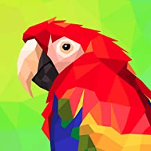 Poly Art Coloring Pages - Color By Number Games