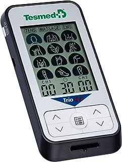 comprar comparacion TESMED Trio 6.5 Electroestimulador Muscular con batería recargable, TENS, Masaje- 36 programas - 40 niveles de intensidad ...