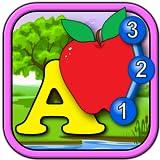 ABC Kids et comptant rejoindre et connectez le jeu de Puzzle de Dot - apprendre l`alphabet, compter les formes et nombres adapté aux tout-petits et enfants d`âge préscolaire 2 +