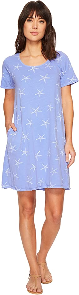 Fresh Produce - White Sea Star Allure T-Shirt Dress