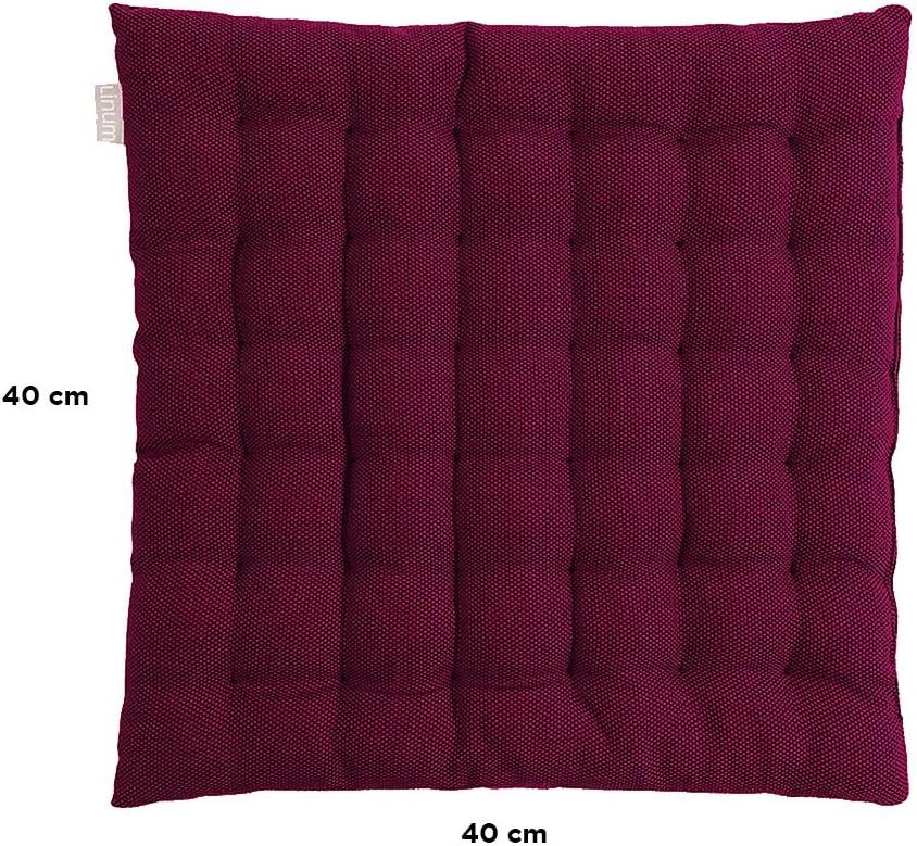 Linum Pepper Chair Pad Seat Cushion 16