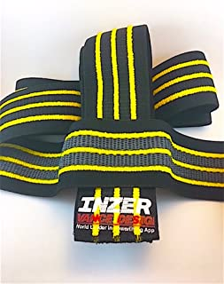 Inzer Gripper Knee Wraps (Pair) - Powerlifting, Weightlifting, Strength Training