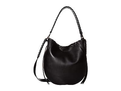 AllSaints Courtney Hobo (Black) Handbags