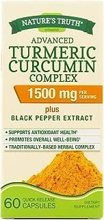 Nature's Truth Turmeric Curcumin Advanced Complex 60 Capsules