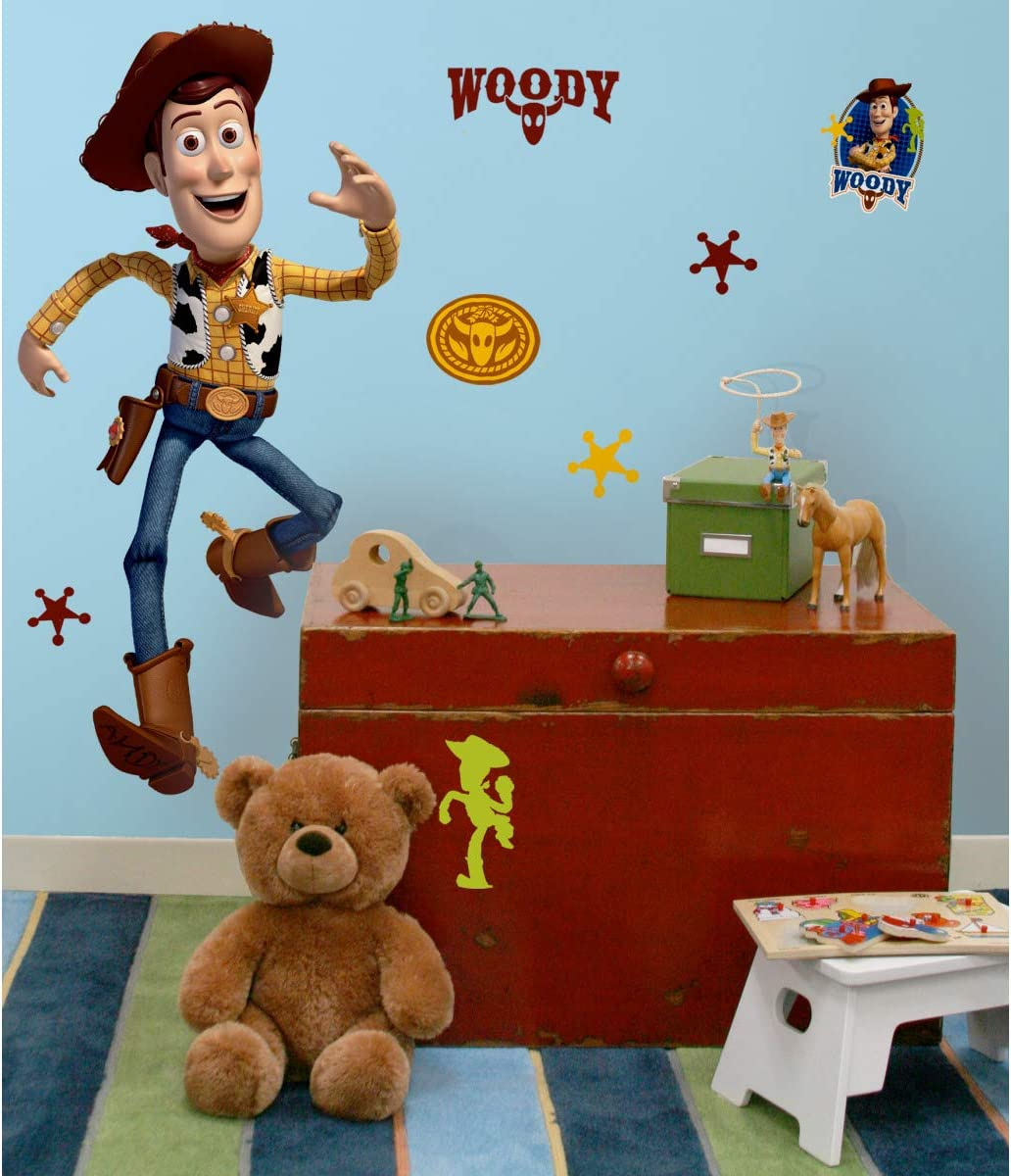 Sheriff Woody Toy Story Cowboy Custom Wall Decals 3D Wall Stickers Art LS1