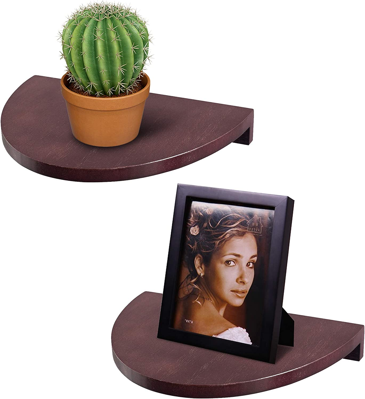 Small Wall Shelf Corner Floating Circle Semi 35% OFF for Shelves Overseas parallel import regular item