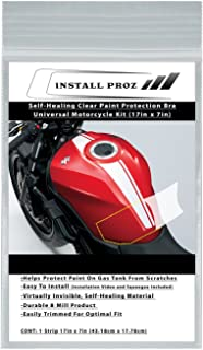 Self-Healing Clear Paint Protection Bra—Universal Motorcycle Kit