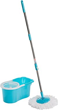 Gala Aqua Spin 151617 Mop (Aqua Blue and White)