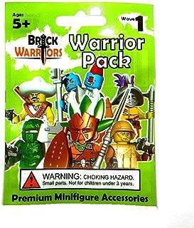 BrickWarriors Warrior Pack Wave 1 - (Colors Vary in Bundle)