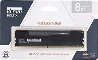 KLEVV デスクトップPC用ゲーミング メモリ PC4-28800 DDR4 3600MHz 8GB x 1枚 288pin BOLTX シリーズ SK hynix製 メモリチップ採用 KD48GU880-36A180T