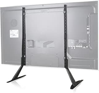 WALI Universal TV Stand Table Top for Most 22 to 65 inch LCD Flat Screen TV, VESA up to..