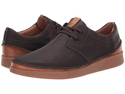 Clarks Oakland Lace (Dark Brown Leather) Men
