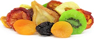 Dried Mixed Fruit with Prunes by It's Delish, 1 lb (16 oz) Bag | Snack Mix of Prunes, Apricots, Plums, Apple Rings, Nectar...