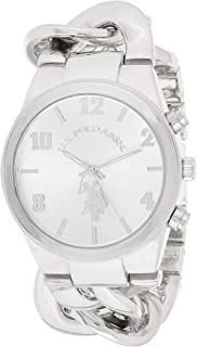U.S. Polo Assn. Women's Quartz Watch, Analog Display and None Strap USC40178